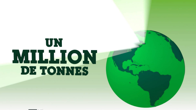 Un million de tonnes